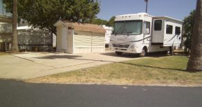 Motor Home at 5012 Bluebonnet Ave